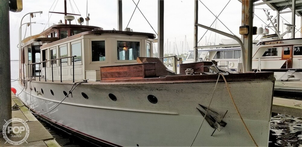 1929 Custom Built Commuter Yacht boat for sale, model of the boat is 73 & Image # 38 of 40