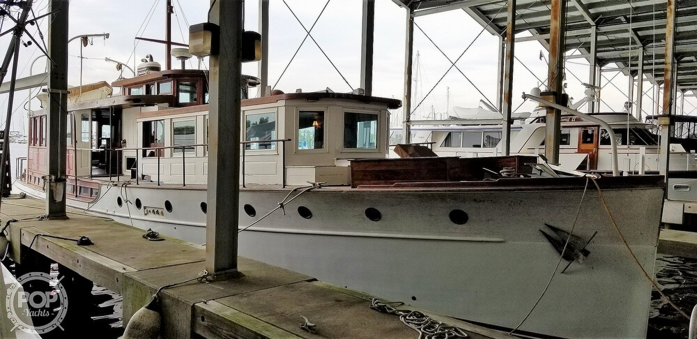 1929 Custom Built Commuter Yacht boat for sale, model of the boat is 73 & Image # 39 of 40