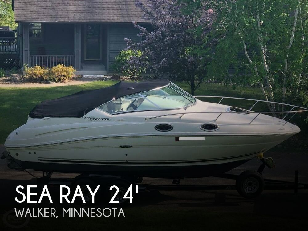 2008 Sea Ray boat for sale, model of the boat is 240 Sundancer & Image # 1 of 20