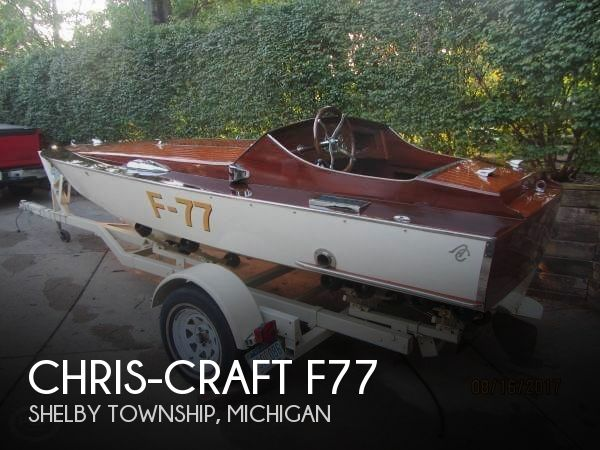 Used Chris-Craft Boats For Sale in Michigan by owner | 1977 Chris-Craft 17