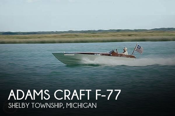 1977 Adams Craft boat for sale, model of the boat is F-77 & Image # 1 of 40