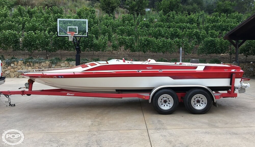 1987 Hallett boat for sale, model of the boat is Super-Sport 20 & Image # 4 of 40