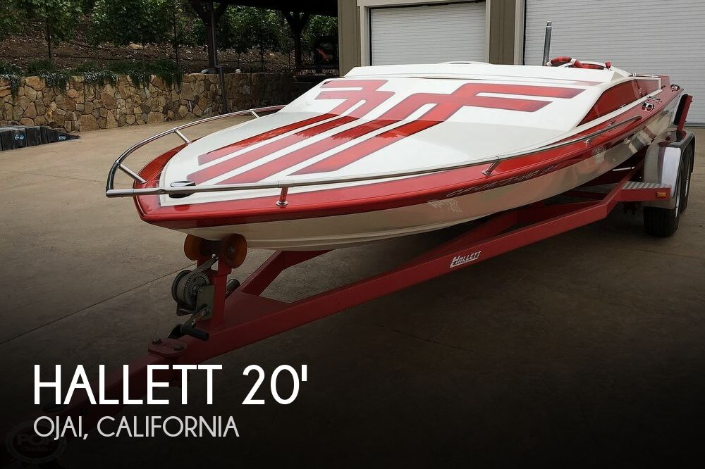 1987 Hallett boat for sale, model of the boat is Super-Sport 20 & Image # 1 of 40