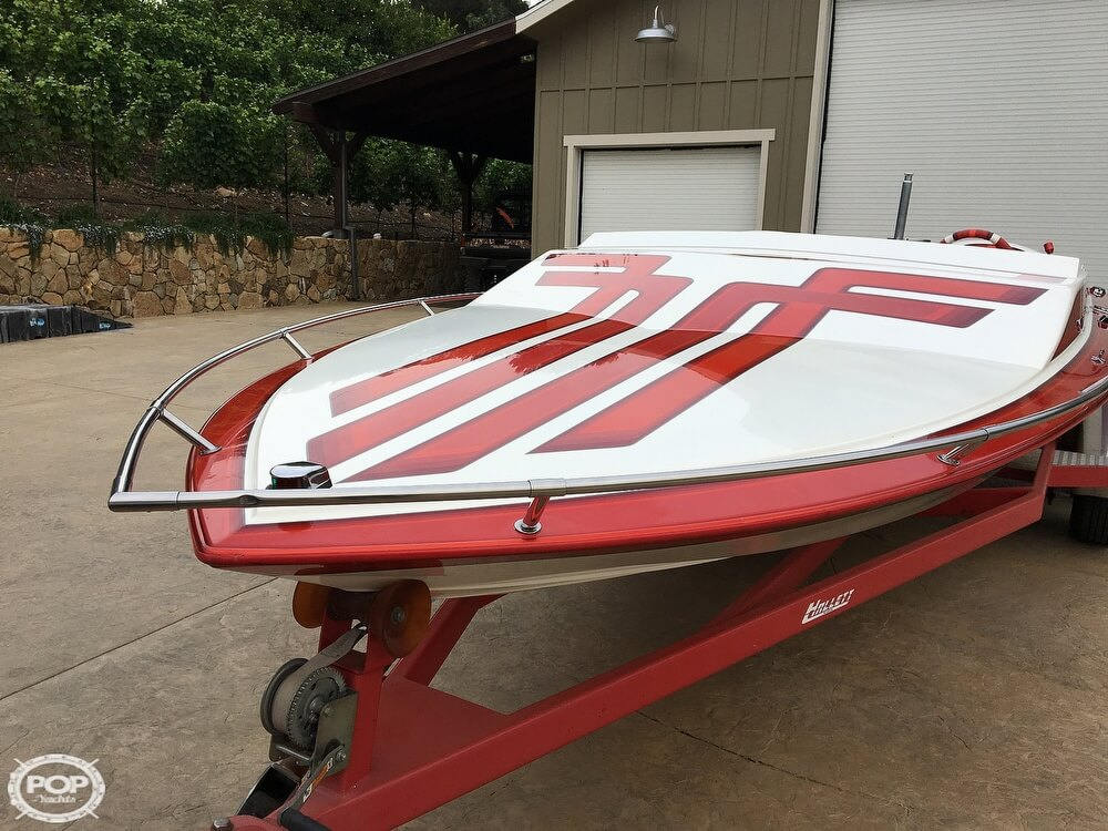 1987 Hallett boat for sale, model of the boat is Super-Sport 20 & Image # 3 of 40