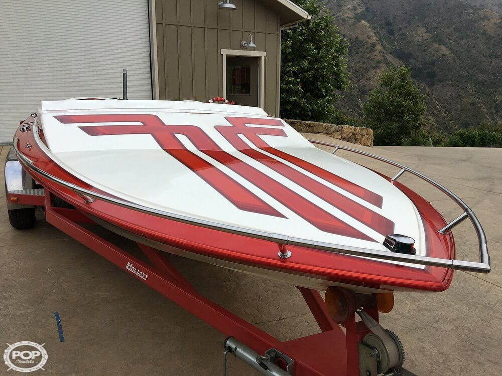 1987 Hallett boat for sale, model of the boat is Super-Sport 20 & Image # 2 of 40