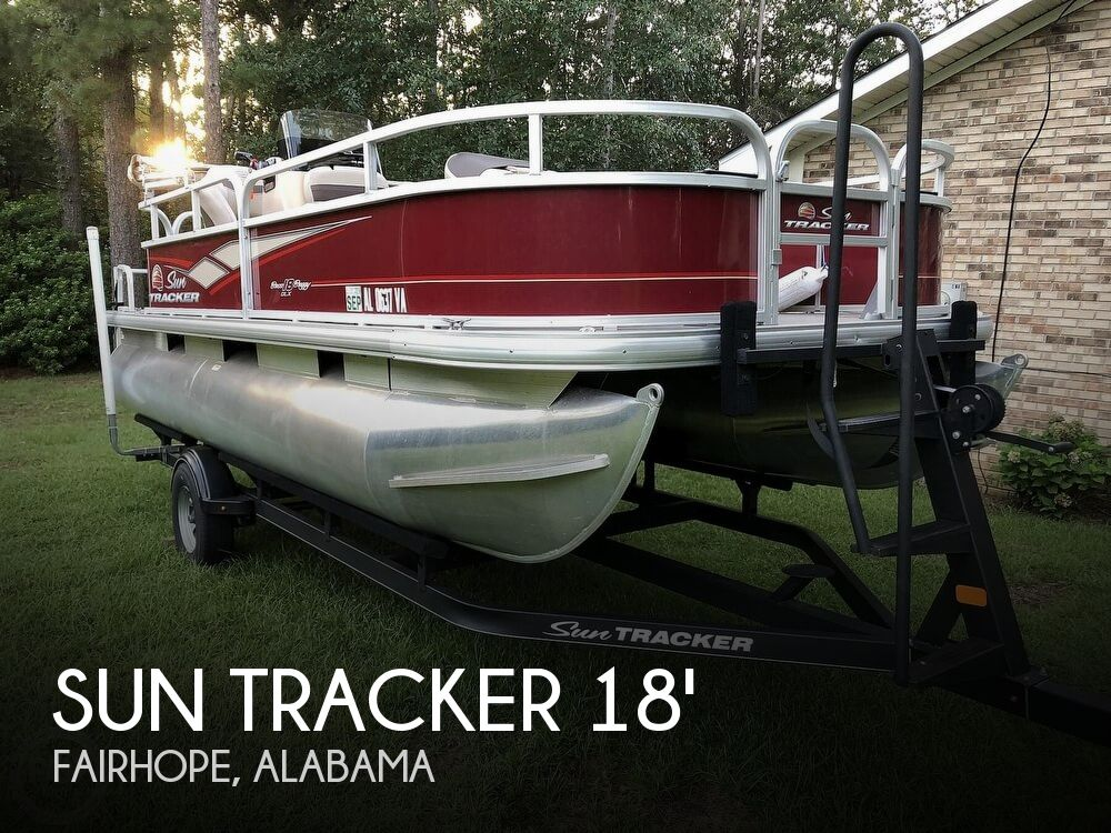 Used Pontoon Boats For Sale in Alabama by owner | 2018 Sun Tracker 18