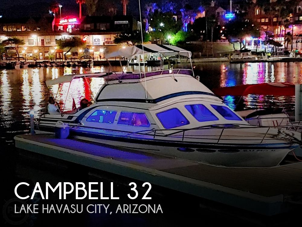 Used Campbell Boats For Sale by owner | 1985 Campbell 32