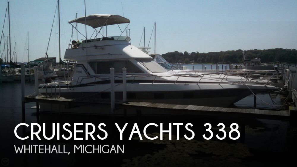 1986 Cruisers Yachts boat for sale, model of the boat is Chateau Vee 338 & Image # 1 of 40