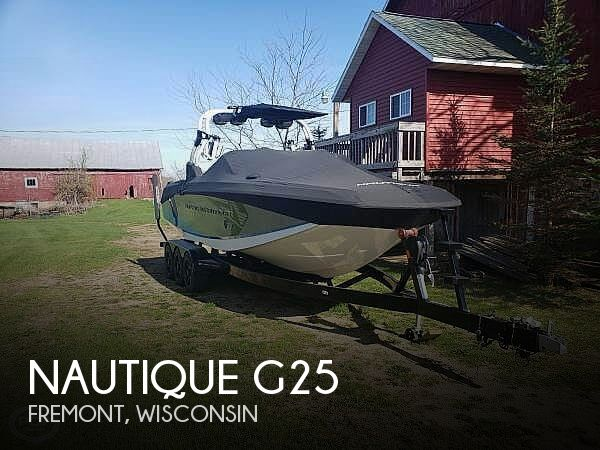 Used Boats For Sale in Wisconsin by owner | 2015 Nautique 25