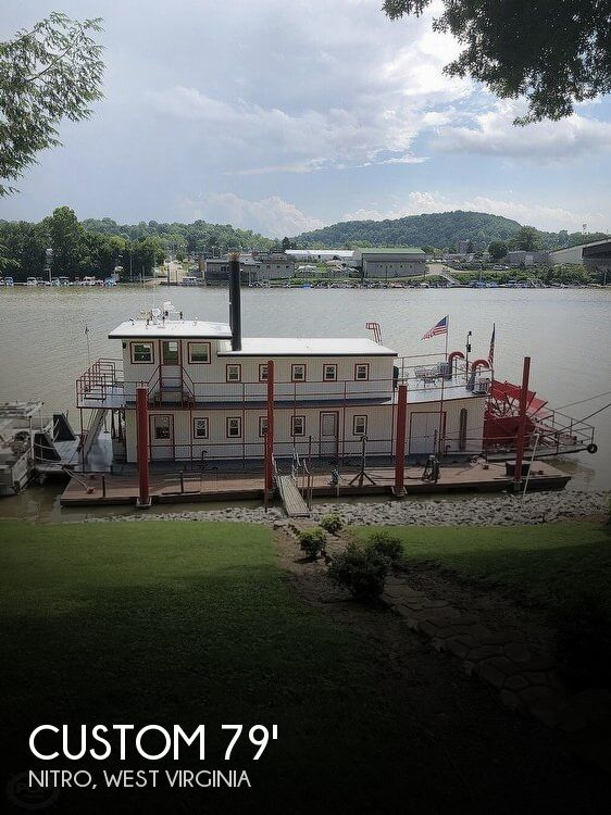 Used Boats For Sale in Huntington, West Virginia by owner | 2001 Custom 79 Sternwheel Paddleboat