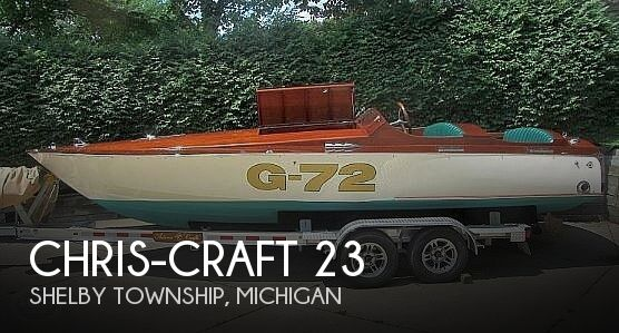 Used Chris-Craft Boats For Sale in Michigan by owner | 1967 Chris-Craft 23