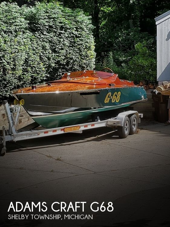 1969 Adams Craft boat for sale, model of the boat is G68 & Image # 1 of 41