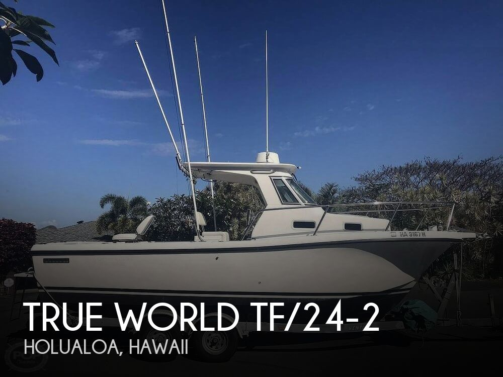 Used Boats For Sale in Hawaii by owner | 2003 True World 24