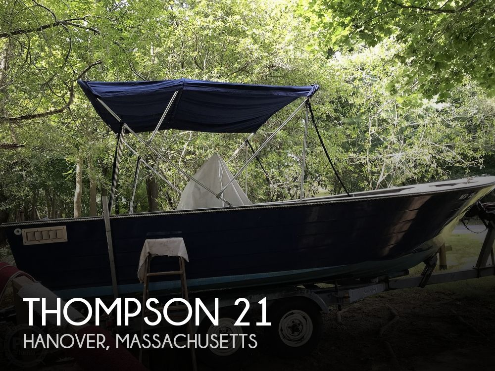 1972 Thompson boat for sale, model of the boat is 21 & Image # 1 of 41