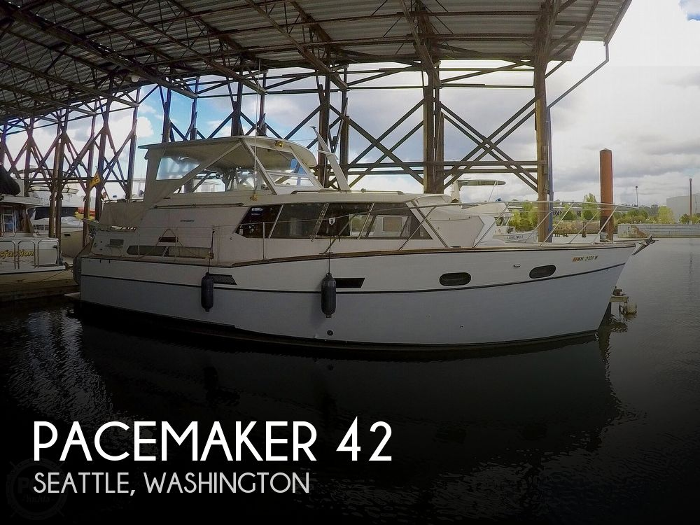 Used Motoryachts For Sale in Washington by owner | 1965 Pacemaker 42