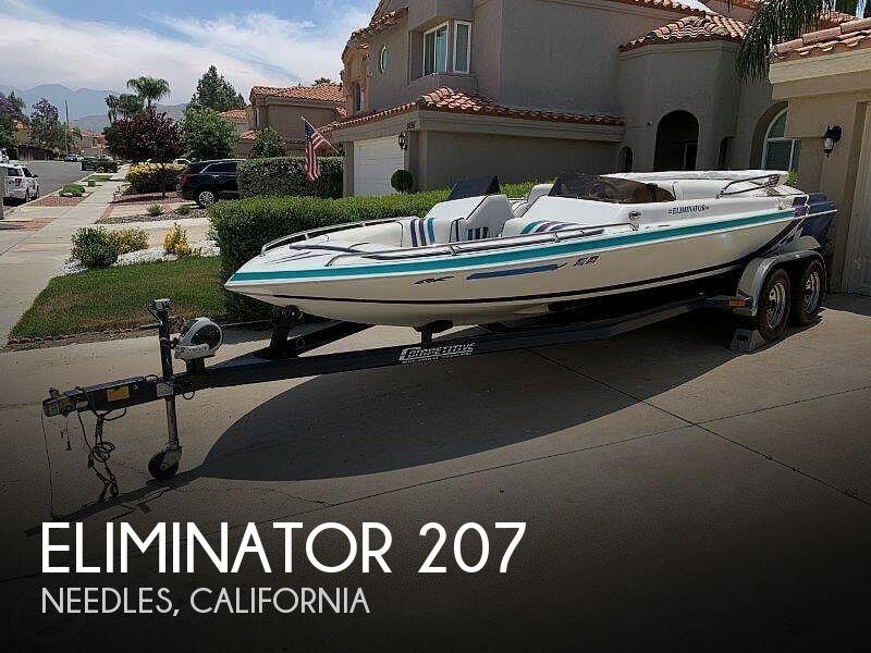 1997 Eliminator 207 Skier