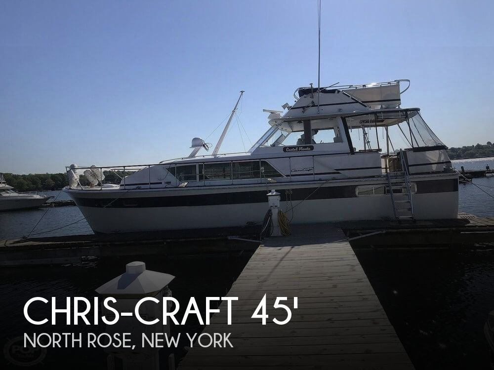 Used Boats For Sale in Syracuse, New York by owner | 1973 Chris-Craft 45
