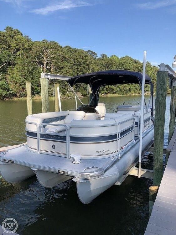 2007 Premier Pontoons boat for sale, model of the boat is Legend 225 PTX & Image # 3 of 41