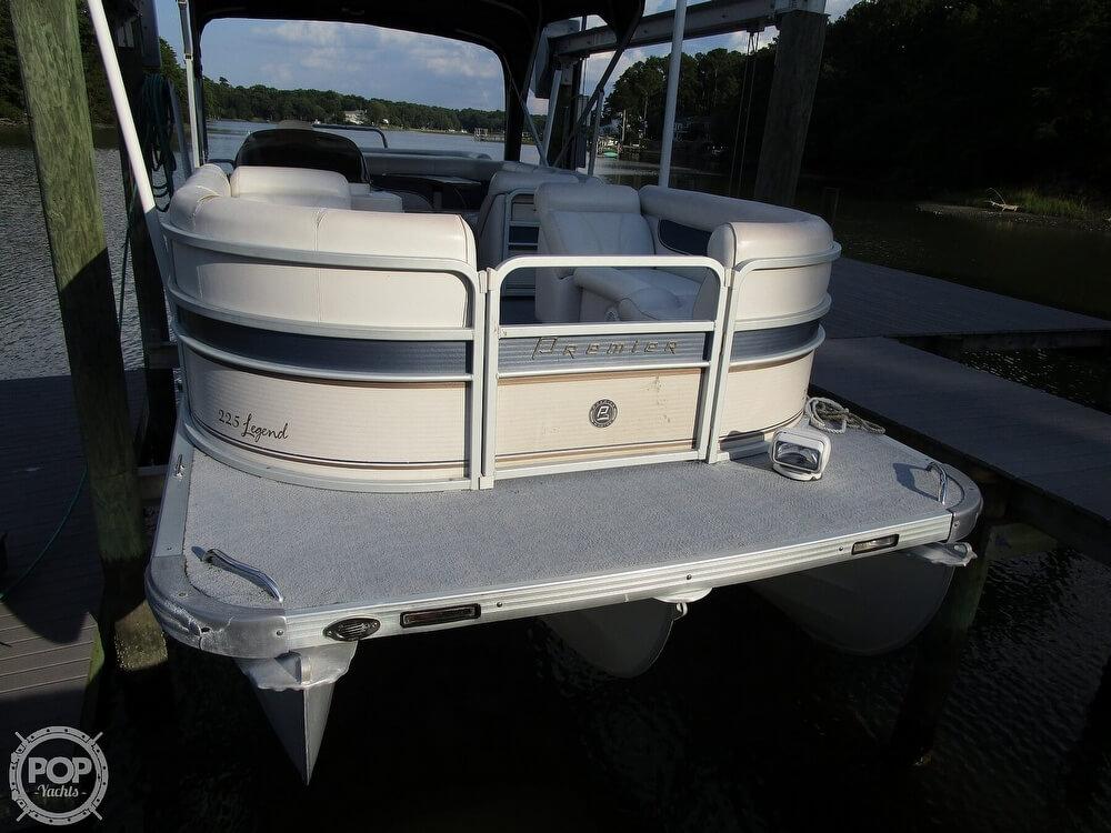 2007 Premier Pontoons boat for sale, model of the boat is Legend 225 PTX & Image # 9 of 41