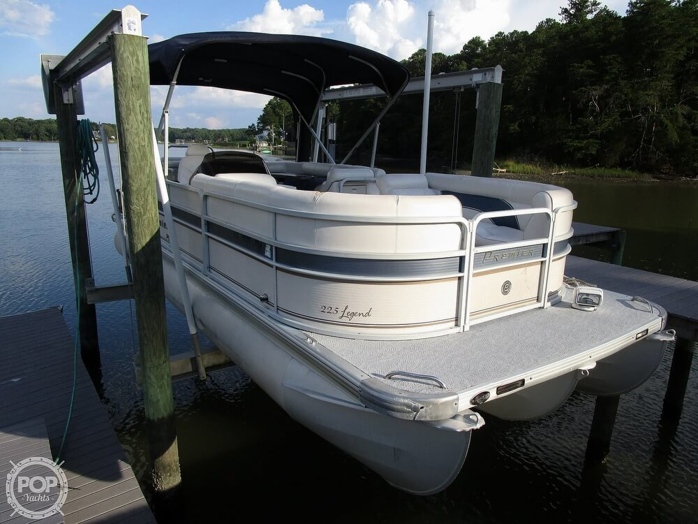 2007 Premier Pontoons boat for sale, model of the boat is Legend 225 PTX & Image # 10 of 41