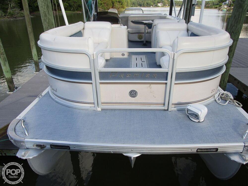 2007 Premier Pontoons boat for sale, model of the boat is Legend 225 PTX & Image # 24 of 41