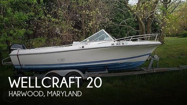 Used Wellcraft 20 Boats For Sale in Maryland by owner | 1988 Wellcraft 20