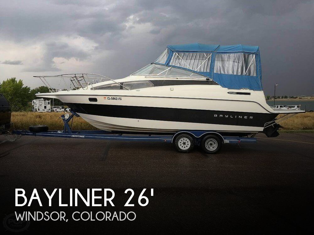 Used Boats For Sale in Cheyenne, Wyoming by owner | 1994 Bayliner 26