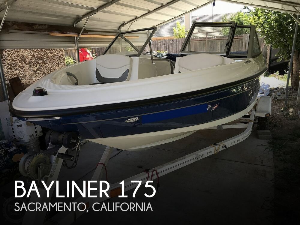 2008 Bayliner boat for sale, model of the boat is 175 Bowrider & Image # 1 of 41