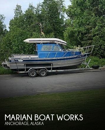 Used Boats For Sale in Anchorage, Alaska by owner | 1994 Marian Boat Works 24