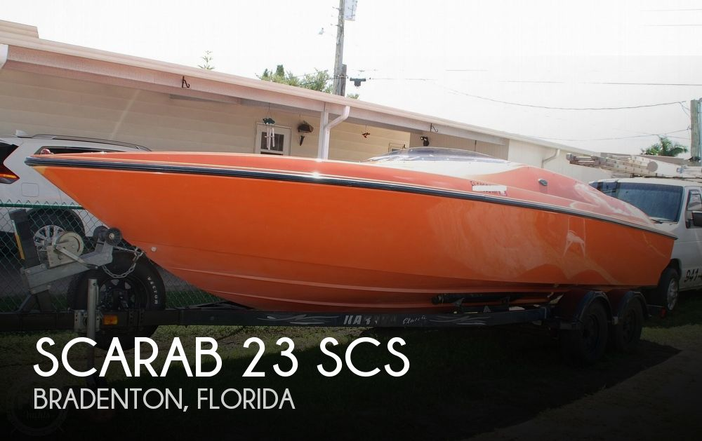 1997 Scarab boat for sale, model of the boat is 23 SCS & Image # 1 of 41