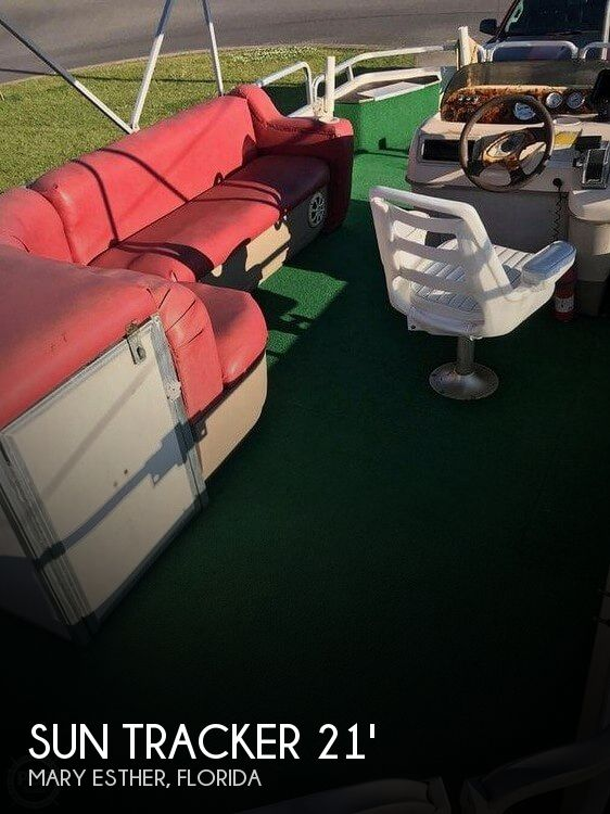 Used Sun Tracker Pontoon Boats For Sale in Florida by owner | 2004 Sun Tracker 21