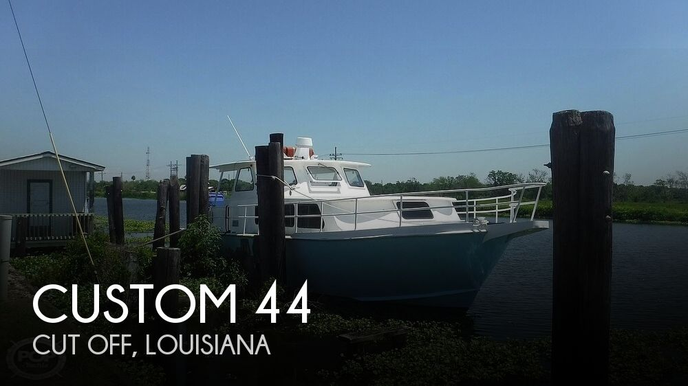 1977 Custom boat for sale, model of the boat is 44 & Image # 1 of 41