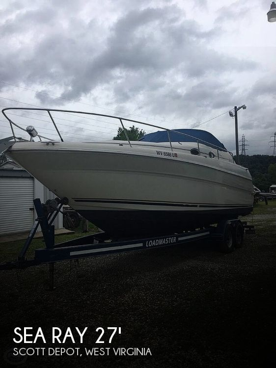 Used Boats For Sale in Huntington, West Virginia by owner | 2001 Sea Ray 27