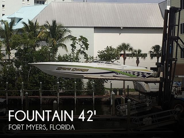Used Fountain Boats For Sale by owner | 2003 Fountain 42