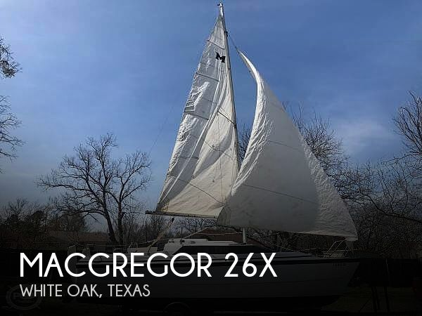 Used Sailboats For Sale in Longview, Texas by owner | 1998 MacGregor 26