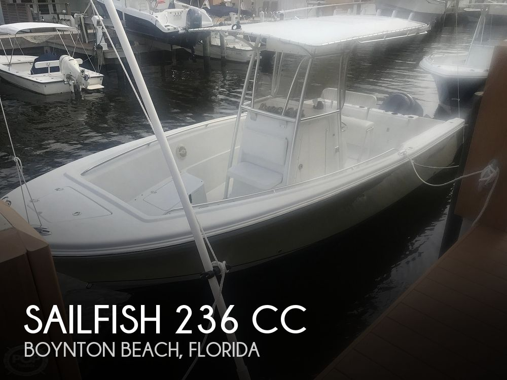 Used Sailfish Boats For Sale by owner | 2005 Sailfish 236 CC