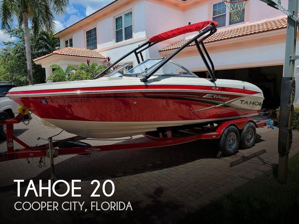 Used Tahoe Boats For Sale by owner   2015 Tahoe 20