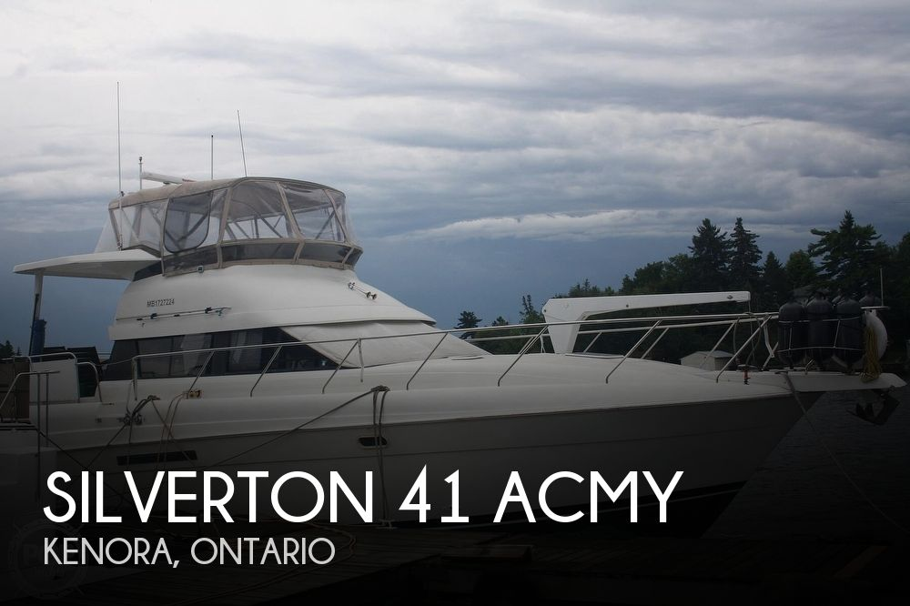 Used Silverton Motoryachts For Sale by owner | 1994 Silverton 41 ACMY
