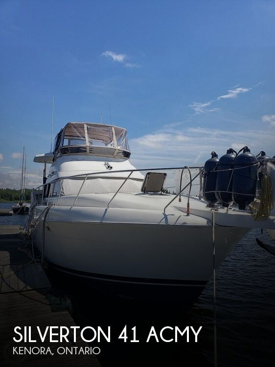 1994 Silverton boat for sale, model of the boat is 41 ACMY & Image # 1 of 40