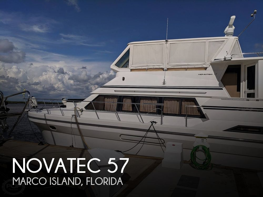 Used Boats For Sale in Naples, Florida by owner | 2001 Novatec 57