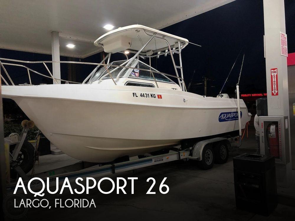 Used Aquasport Boats For Sale by owner | 1998 Aquasport 26