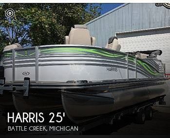 Used Boats For Sale in Kalamazoo, Michigan by owner | 2019 Harris 25