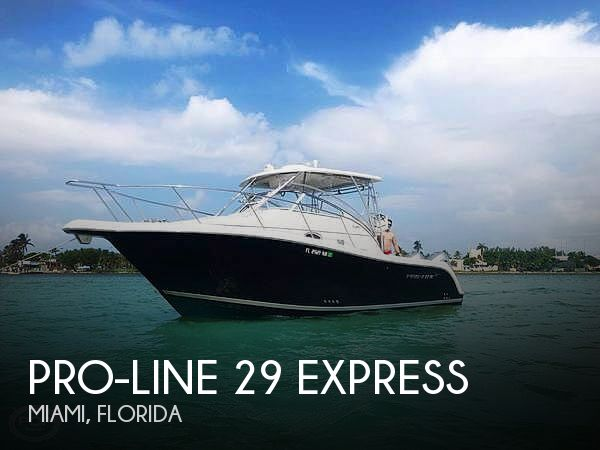 Used Pro-Line Boats For Sale in Florida by owner | 2008 Pro-Line 29