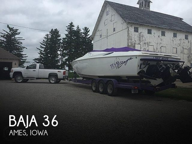 Used Boats For Sale in Iowa by owner | 1998 Baja 36