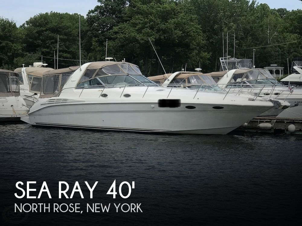Used Boats For Sale in Syracuse, New York by owner | 1998 Sea Ray 400 Sundancer