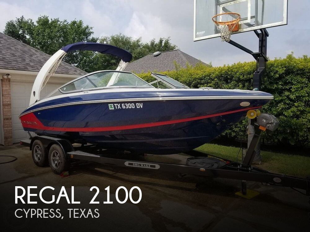 Used Regal Boats For Sale in Texas by owner | 2017 Regal 21