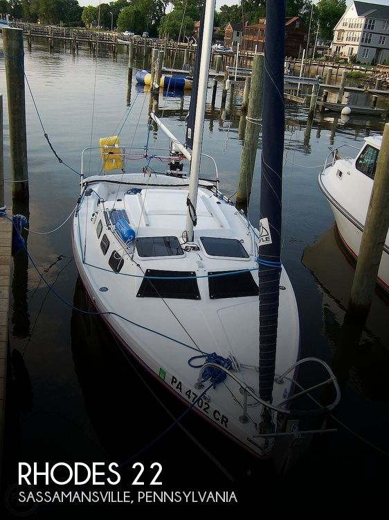Used Rhodes Boats For Sale by owner | 1989 Rhodes 22
