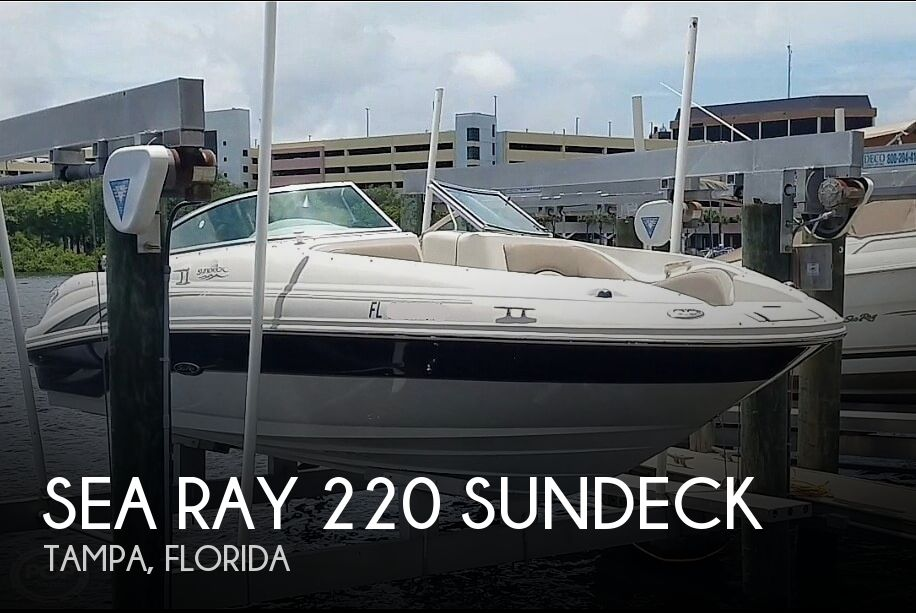 Used Sea Ray 220 Sundeck Boats For Sale by owner | 2004 Sea Ray 220 Sundeck