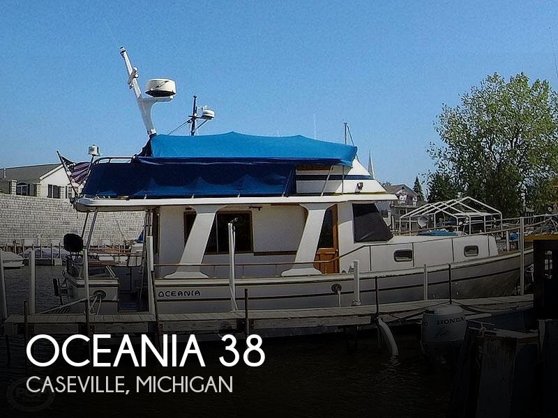 Used Boats For Sale in Saginaw, Michigan by owner | 1985 Oceania 38