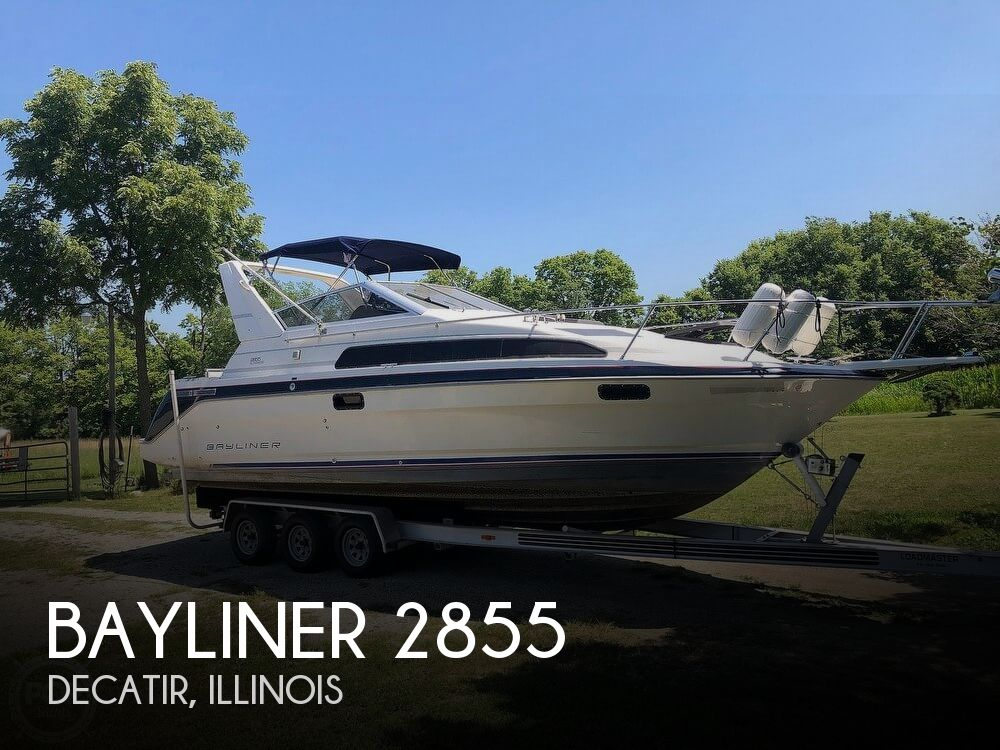 Used Bayliner Boats For Sale in Illinois by owner | 1991 Bayliner 2885 Sunbridge